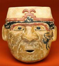 "Wall Decor  Pre-Columbian Quimbaya Mask Replica ""The Old Wise Man"""