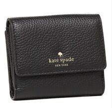 NWT kate spade new york Cobble Hill Tavy Wallet Black