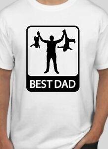 Best Dad fathers day birthday Xmas funny t shirt tshirt