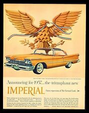 "Original 1957 ""Chrysler Imperial"" Crown 2-Door Southampton Magazine Art Print Ad"