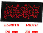 DEICIDE Music Metal Rock Black Death Heavy Patch Sew Iron On Embroidered
