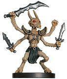 D & D THRI-Kreen Barbarian #26 - angelfire NUOVO