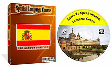 Learn to Speak Spanish Language Course Mp3 Audio PDF Text Lessons PC CD Disk
