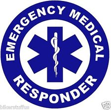EMERGENCY MEDICAL RESPONEDER STICKER
