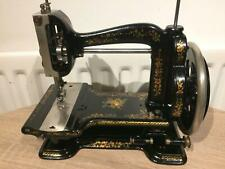 White Gem Antique/vintage Sewing Machine, antique Inspiration,vintage Home Decor