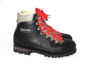 Raichle 13 M Black Mountaineering Boots Trail Mountain Hike Switzerland Heavy