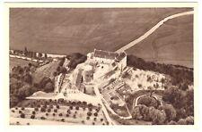 AK, Burg Saaleck bei Hammelburg a. Saale, Luftbild, Ganzsache P254 **/164, 1934