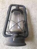 Antique Embury Mfg. Co. Defiance ,Warsaw, NY Oil Lantern, No 0