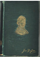 The Poetical Works of John Dryden 1893 Antique Book! $