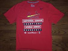 L Men's Nike St. Louis Cardinals Baseball MLB 2011 World Series Bound T-Shirt