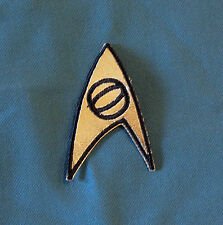Star Trek TOS Sciences Insignia 3rd Season version patch cosplay