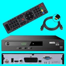 HD Sat Receiver Nokta 1461 Digital USB HDMI Scart DVB-S2 1080p Full HDTV Media