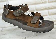 ROCKPORT Mens Brown Leather Sandals Outdoor Sport Walking Shoe Size 11 UK 46 EU