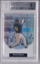 2004 Bowman Sterling Refractor Brad Eldred Rookie Graded BGS 9