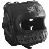 Ringside Boxing Youth Face Saver MMA Sparring Headgear - Black