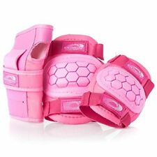 Girls Elbow and Knee Pads Wrist Guards, Adjustable, Protect From Falls, Kids