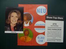 Sammelbilder Karten : Edina Pop Bergmann - Verlag Show Top Stars figurina Bild