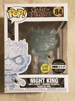 Funko Pop Game of Thrones Glow in the Dark  Night King with Dagger HBO Exclusive