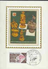 Frankrijk FDC Carte 1974 (011) - Olympiques Echiqueens