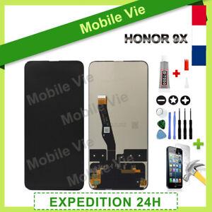 VITRE TACTILE + ECRAN LCD POUR HUAWEI Psmart Z / HONOR 9X NOIR + OUTILS / COLLE