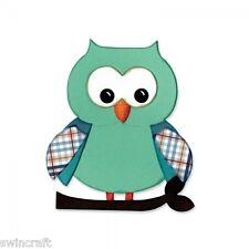 Sizzix Bigz  Die OWL #5 660785 BIGkick/Big Shot/Vagabond/Cut n Boss