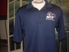 "SANDWICH HIGH SCHOOL""Blue Knights""(FOOTBALL)GOLF POLO SHIRT(Moisture Manag.)Med."