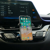 Black Car Air Vent Mount Cradle Holder Stand Mobile Cell Phone For Toyota C-HR