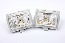 Genuine MERCEDES W204 W221 W212 C216 2005-2012 LED License Plate Lights x2 Pair