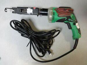 Drywall Screw Driver Hitachi Super Drive 120 Volt Reversible W6V4