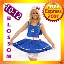 8405 Sweetheart Sailor Fancy Dress Adult Costume 10/12