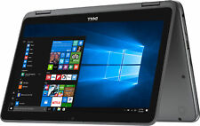 """Dell I3168-0702GRY 11.6"""" Touch Laptop Intel Celeron N3060 1.6GHz 4GB 32GB Win10"""