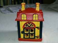 Vintage Cast Iron Mechanical Coin Bank - Novelty Bank
