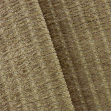 Toast Beige Valdese Redeem Chenille Upholstery Fabric, Fabric By The Yard