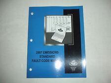 Mack 2007 Engine Emissions Standard Fault Code Shop Service Manual V-MAC IV  OEM