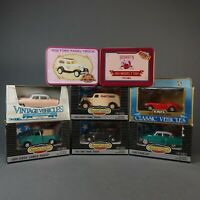 Lot Of 8 ERTL 1/43 Classic Vehicles Die Cast Cars Ferrari Model T Cadillac GMC