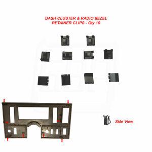 78-87 Grand National Dash Instrument Cluster Radio Bezel Trim Retainer Clip - 10