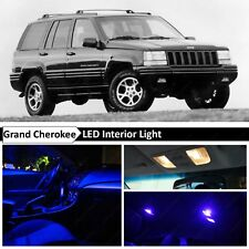 Blue LED Lights Interior Replacement Package for 1993-1995 Jeep Grand Cherokee