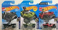 Hot Wheels Halo UNSC Warthog 2017 2018 2019