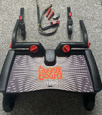 Lascal BuggyBoard Buggy Board Maxi With Uncut Connectors, Strap & Pin Key