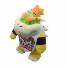 "Super Mario Bros. Standing Bowser Koopa Jr. Stuffed Plush Doll Toy 8"" US SELL"