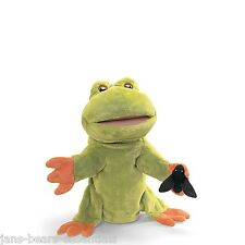 """Gund - Fly on the Wall Frog Puppet - 13"""""""