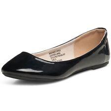 Alpine Swiss Pierina clásico para mujer punta redonda Ballet Zapatos sin Taco Sin Trabajo Mocasines