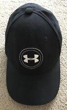 Under Armour Golf Boys Black Baseball Cap Small/medium