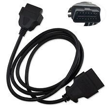 New OBD-II OBD2 Auto Car Male to Female Extension Cable Diagnostic Extender