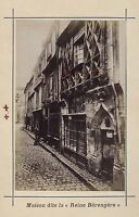 Mans Francia Stampa Albumina Vintage Verso 1890 Formato CDV 2 Foto R/A