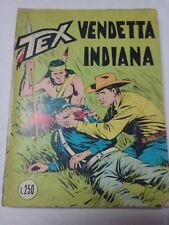 TEX N. 91 - VENDETTA INDIANA - L. 250  -  Settembre 1971 - TRE STELLE