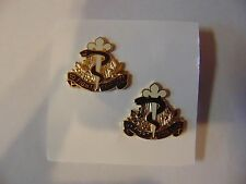 MILITARY INSIGNIA CREST SET OF 2 DUI 325TH FIELD HOSPITAL TO FIGHT FOR LIFE