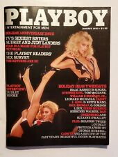 Playboy Magazine January 1983 Issue (Dudley Moore Interview)