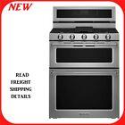 "KitchenAid KFGD500ESS 30"" Double Oven Gas Range Stainless Steel photo"