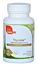 Natural Thyroid Support Supplement Thyroid Care Complex ~ Zahler 60 Caps